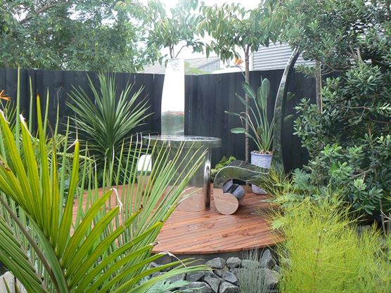 Landscape design ideas new zealand retaining walls for for Small garden designs nz